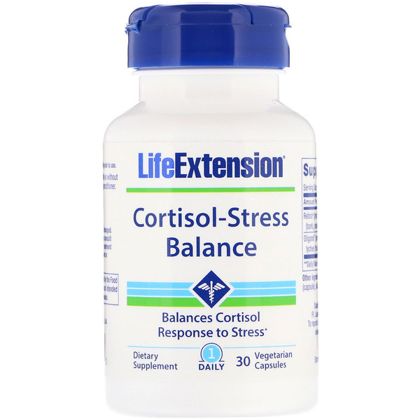 Life Extension, Cortisol-Stress Balance, 30 Vegetarian Capsules