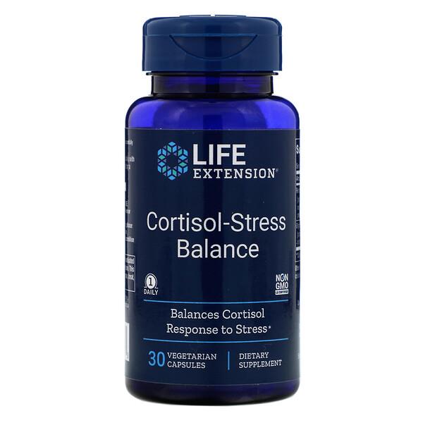 Cortisol-Stress Balance, 30 Vegetarian Capsules
