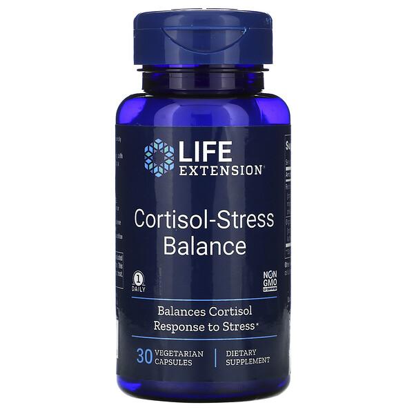코티솔-스트레스 밸런스, 30 식물성 캡슐