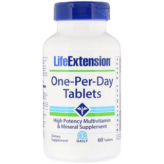 Life Extension, قرص واحد-كل-يوم ، 60 قرص