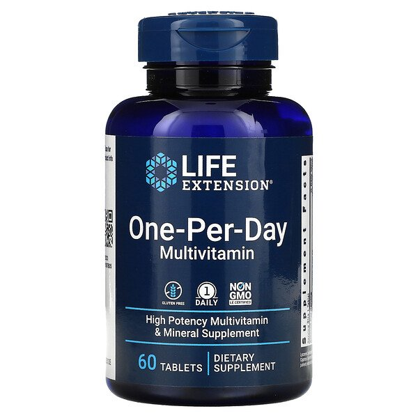 Life Extension, One-Per-Day, 60таблеток