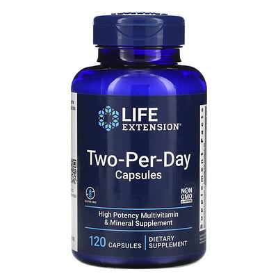 Купить Life Extension капсулы для приема дважды в день, 120капсул