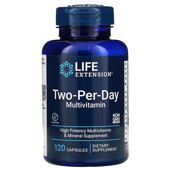 Two-Per-Day Multivitamin, 120 Capsules