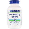 Life Extension, Two-Per-Day Tablets, 120 Tablets