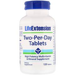 Life Extension, 투 퍼 데이 태블릿, 120 태블릿