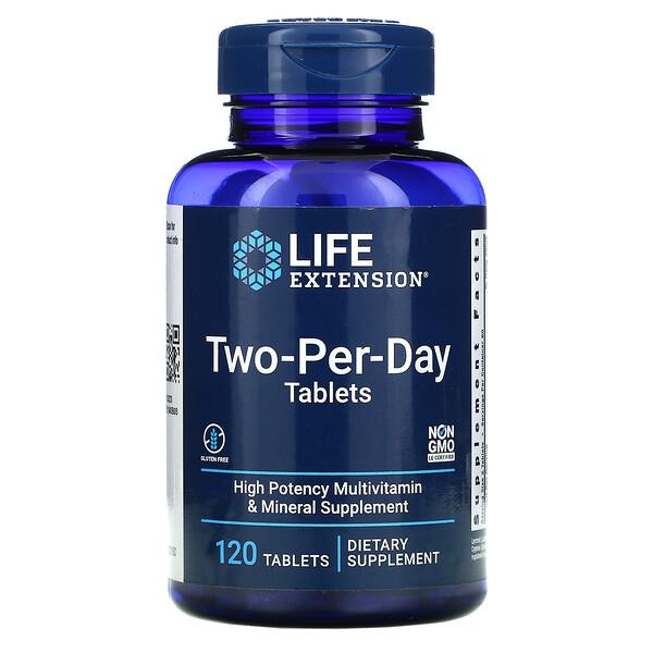 Dos por día, 120comprimidos