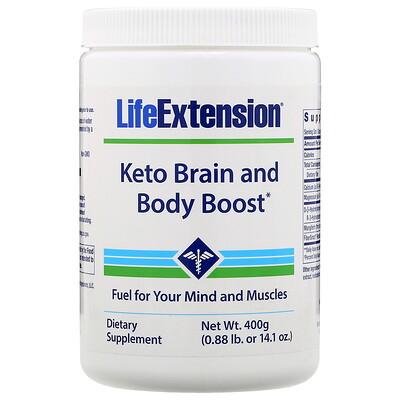 Купить Life Extension Кето-усилитель работы мозга и тела, 400г (1, 41унция)