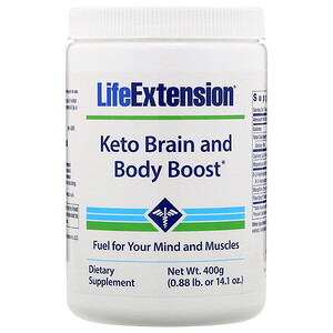 Life Extension, Keto Brain and Body Boost, 14.1 oz (400 g)'