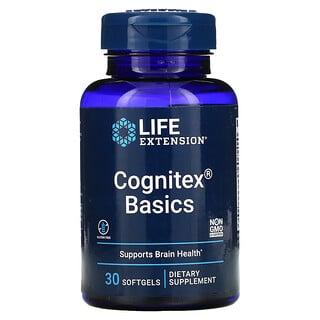 Life Extension, Cognitex Basics, 30cápsulas de gel blando