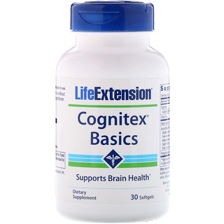 Life Extension, Cognitex Basics, 30 Softgels