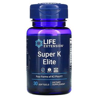 Life Extension, Super K Elite, 30 Softgels