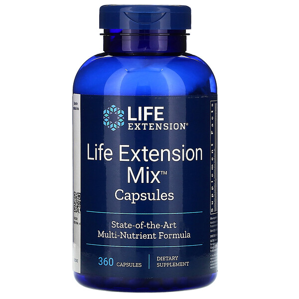 Life Extension, Mix Capsules, 360 Capsules