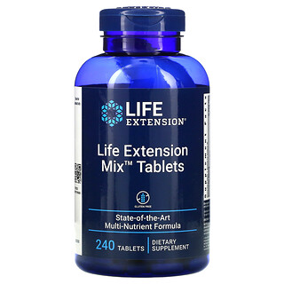 Life Extension, Mix Tablets,  240 Tablets