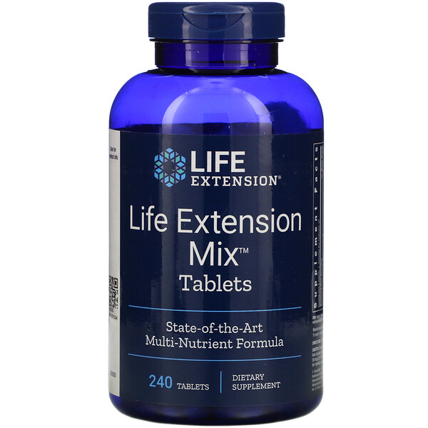 Life Extension Mix Tablets,  240 Tablets