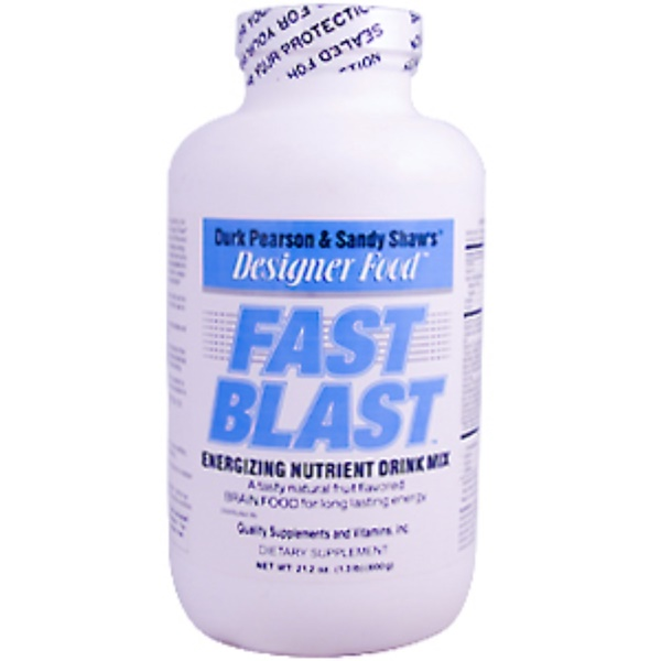 Life Extension, Durk Pearson & Sandy Shaw's, Fast Blast, 1.3 lb (600 g) (Discontinued Item)