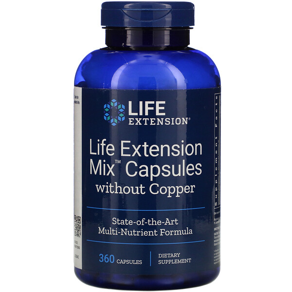 Mix Capsules without Copper, 360 Capsules