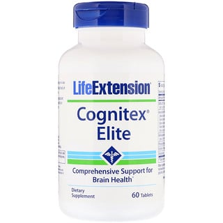 Life Extension, Cognitex Elite, 60 Tablets