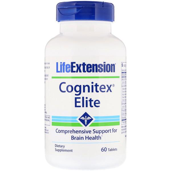 Life Extension, Cognitex Elite, 60 Tablets