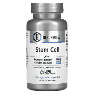 Life Extension, Geroprotect, Stem Cell, добавка для поддержания здоровья стволовых клеток, 60вегетарианских капсул