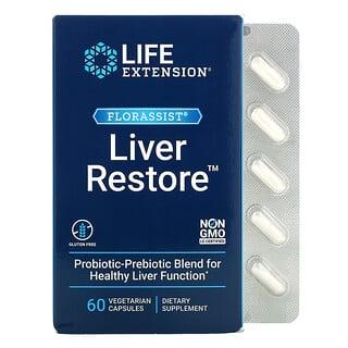 Life Extension, FLORASSIST Liver Restore, 60 Vegetarian Capsules