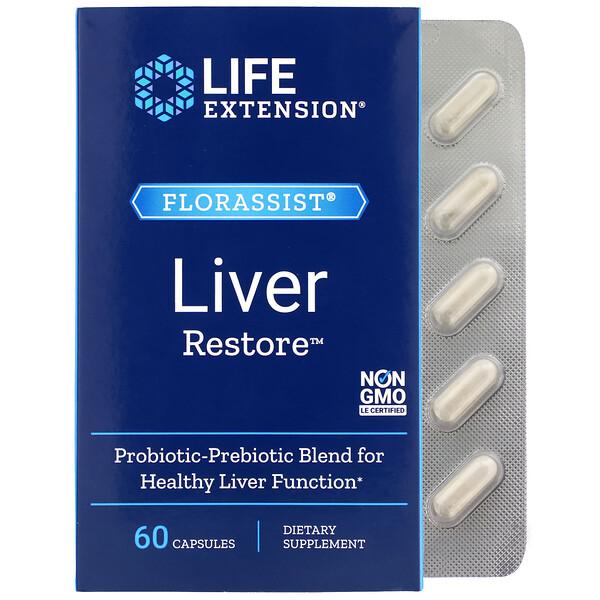 FLORASSIST Liver Restore, 60 Capsules