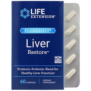Лайф Экстэншн, FLORASSIST Liver Restore, 60 Capsules отзывы