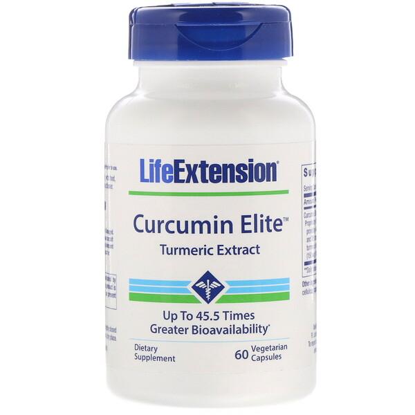 Curcumin Elite, Turmeric Extract, 60 Vegetarian Capsules