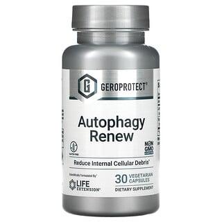 Life Extension, GeroProtect, Autophagy Renew, 30вегетарианских капсул