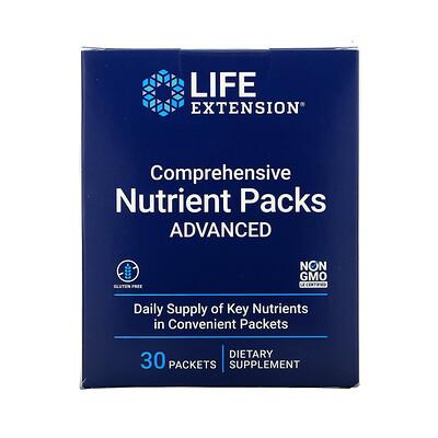 Купить Life Extension пакетики с комплексом питательных веществ, усовершенствованный состав, 30шт.