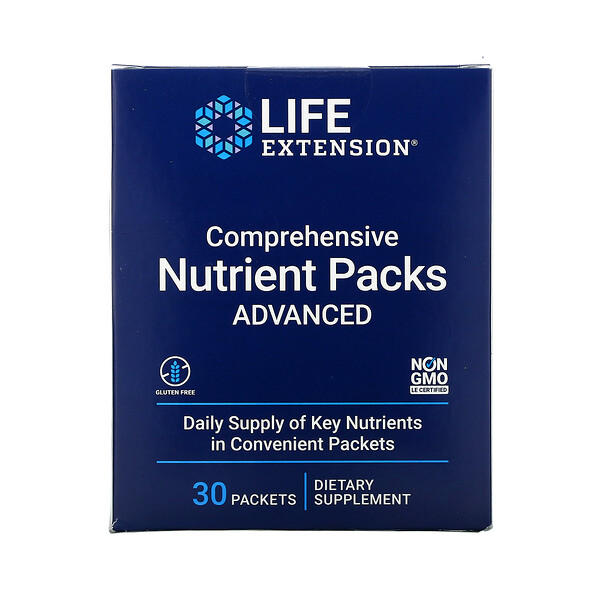 Comprehensive Nutrient Packs Advanced, 30 Packets