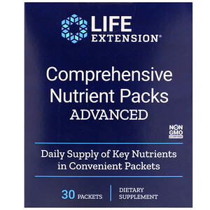 Лайф Экстэншн, Comprehensive Nutrient Packs Advanced, 30 Packets отзывы