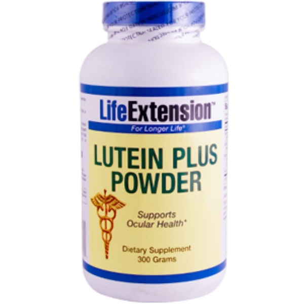 Life Extension, Lutein Plus Powder, 300 g (Discontinued Item)