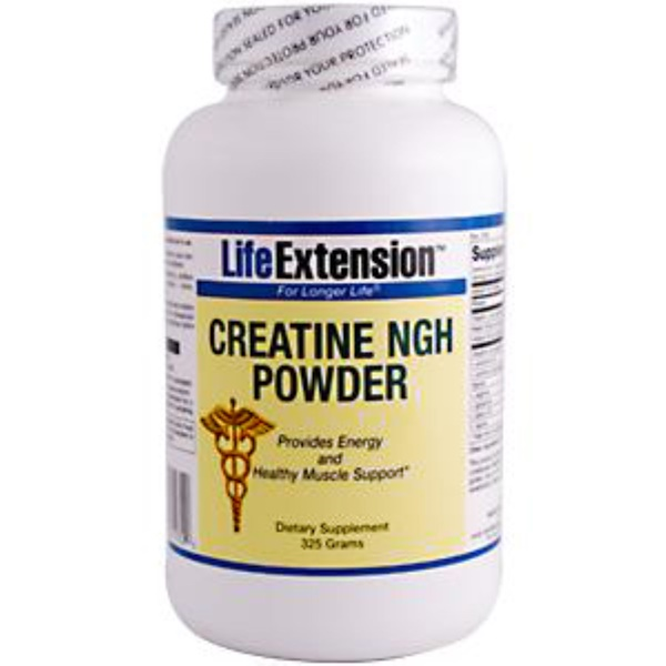 Life Extension, Creatine NGH Powder, 325 g (Discontinued Item)