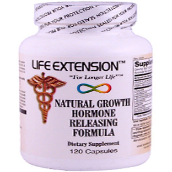 Life Extension, Natural Growth Hormone Releasing Formula, 120 Capsules (Discontinued Item)