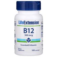 Витамин B-12, 500 мкг, 100 пастилок - фото