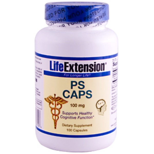 Life Extension, PS Caps, 100 mg, 100 Capsules (Discontinued Item)