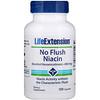 Life Extension, No Flush Niacin, 800 mg, 100 Capsules