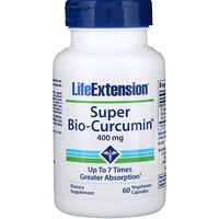 Супер био-куркумин, 400 мг, 60 вегетарианских капсул - фото