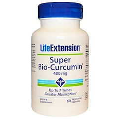 Life Extension, Super Bio-Curcumin, 400 mg, 60 Veggie Caps