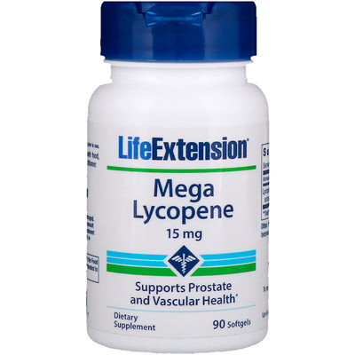 Мега ликопин, 15 мг, 90 гелевых капсул