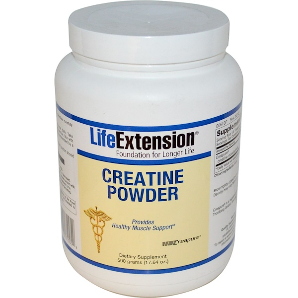 Life Extension, Creatine Powder, 17.64 oz (500 g) (Discontinued Item)