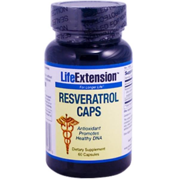 Life Extension, Resveratrol, 60 Capsules (Discontinued Item)