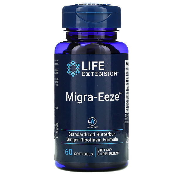 Migra-Eeze, 60 Softgels