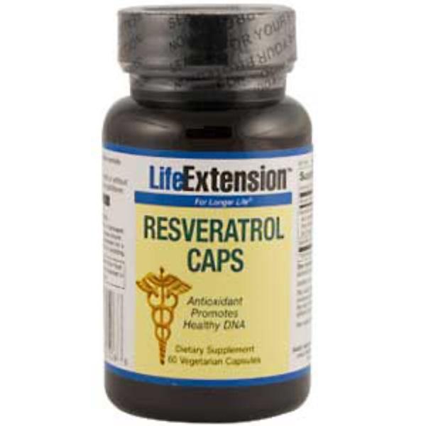 Life Extension, Resveratrol Caps, 60 Veggie Caps (Discontinued Item)