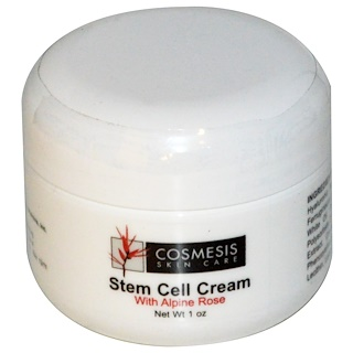Life Extension, Cosmesis Skin Care, Stem Cell Cream, With Alphine Rose, 1 oz