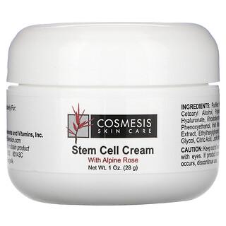 Life Extension, Cosmesis Skin Care, крем со стволовыми клетками, 1 унция (28 г)
