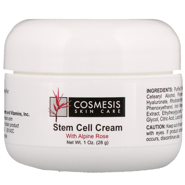Cosmesis Skin Care, Stem Cell Cream, 1 oz (28 g)