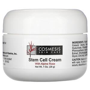 Лайф Экстэншн, Cosmesis Skin Care, Stem Cell Cream, 1 oz (28 g) отзывы
