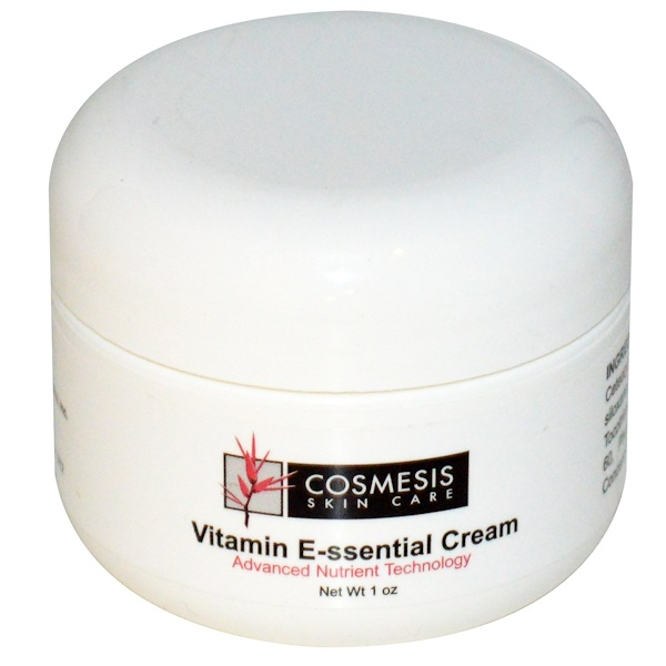 Life Extension, Cosmesis Skin Care, Vitamin E-ssential Cream, 1 oz (Discontinued Item)