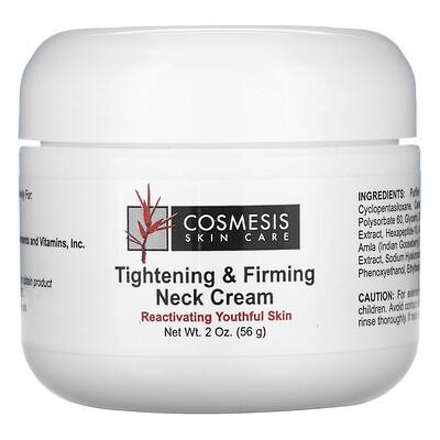 Life Extension Cosmesis Skin Care, подтягивающий и укрепляющий крем для шеи, 56г (2унции)